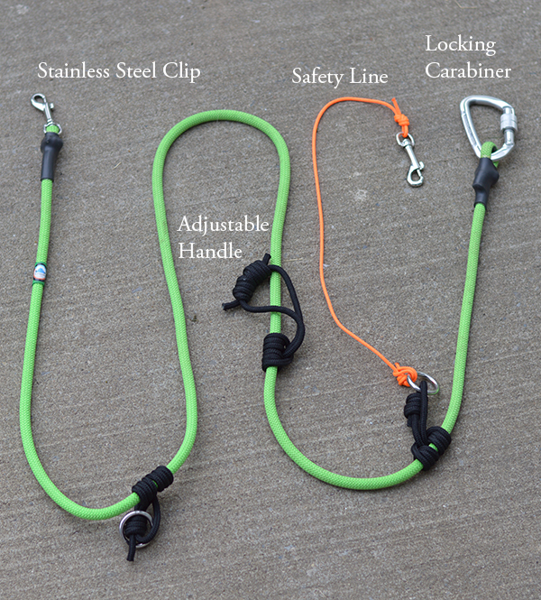 Making A Dog Leash From Climbing Rope